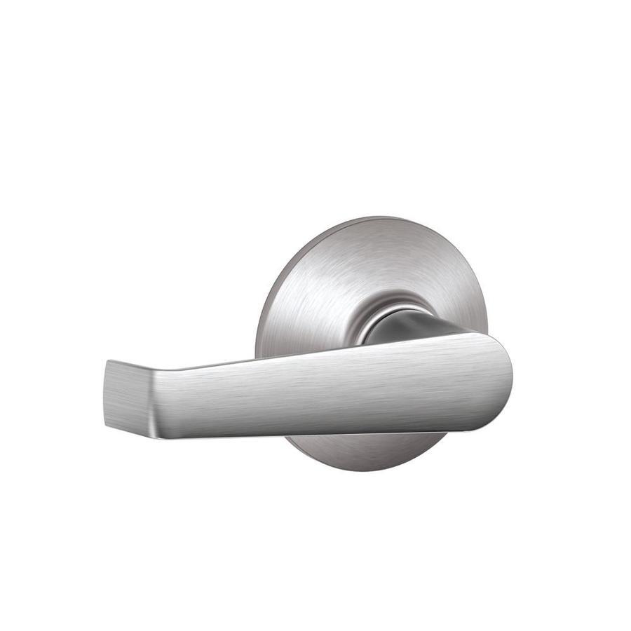 Schlage Elan Satin Chrome-Handed Passage Door Lever