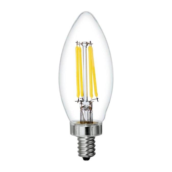 Case of: 1 LED Bulb Soft White 40 Watt Equivalence 3 pk Philips B11 E12 Candelabra