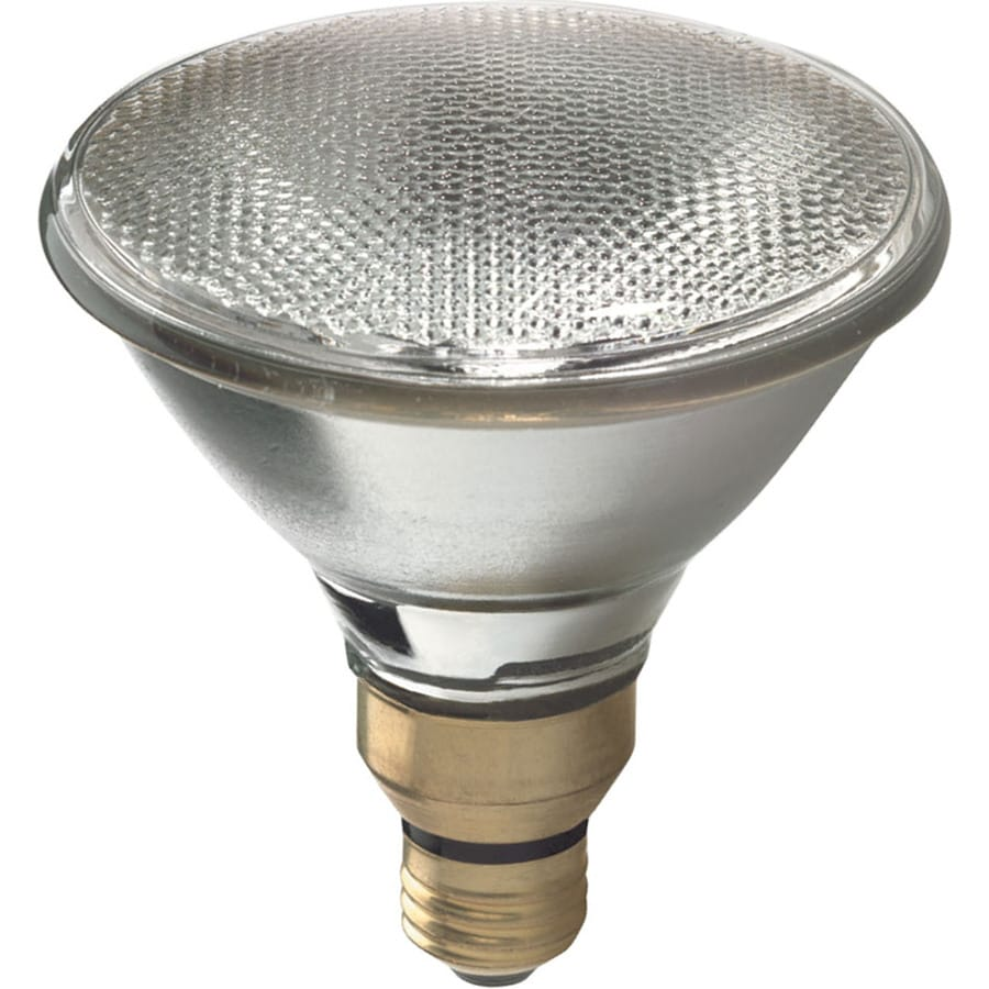 Shop ge 75 watt par38 medium base e 26 soft white for Where to buy halogen bulbs