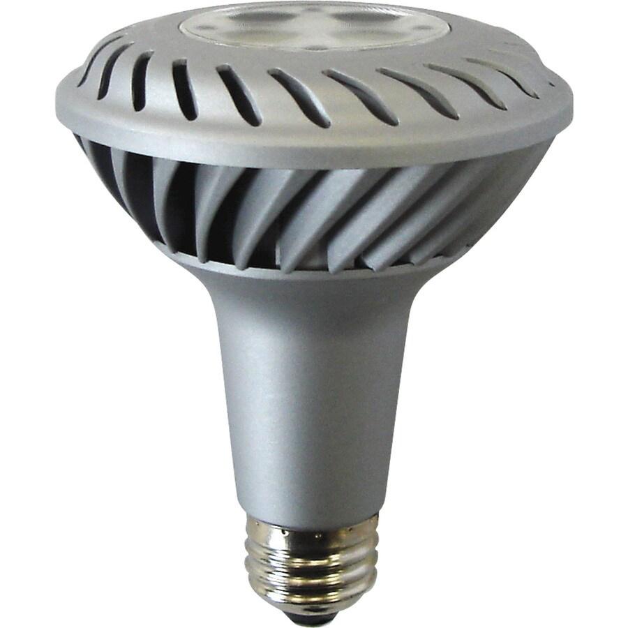 GE 10-Watt (45W) PAR30 Longneck Medium Base Bright White Indoor LED Flood Light Bulb ENERGY STAR