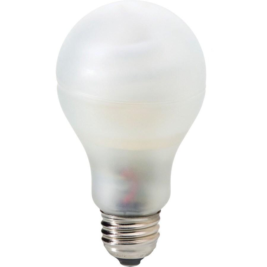 GE 2-Pack 15-Watt (60W Equivalent) 2,700K A19 Medium Base (E-26) Soft White CFL Bulb ENERGY STAR