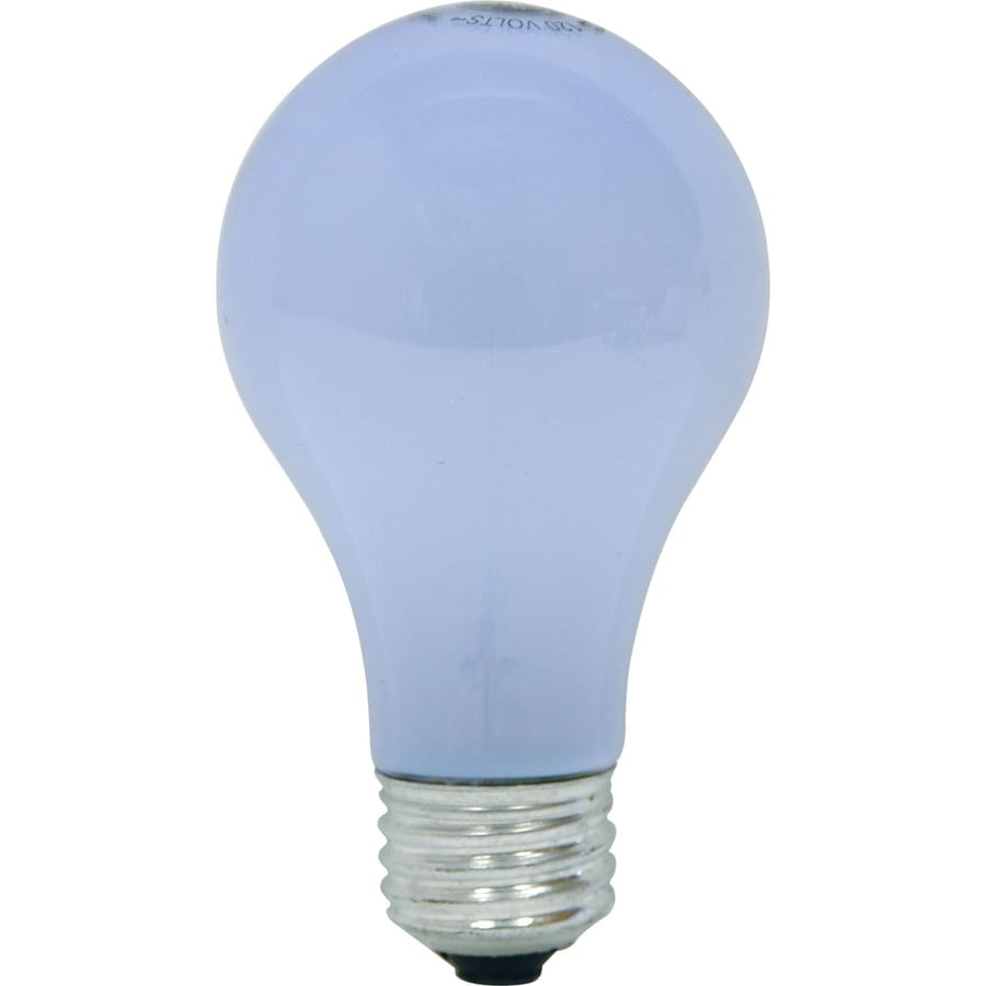 GE 8-Pack 75-Watt A19 Base Type Base Color-Enhancing for Indoor or Enclosed Outdoor Use Only Incandescent Light Bulb