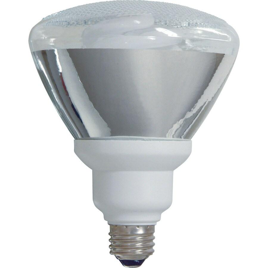 GE Energy Smart 24-Watt (90W Equivalent) 2,700K PAR38 Medium Base (E-26) Soft White Outdoor Flood Light CFL Bulb ENERGY STAR