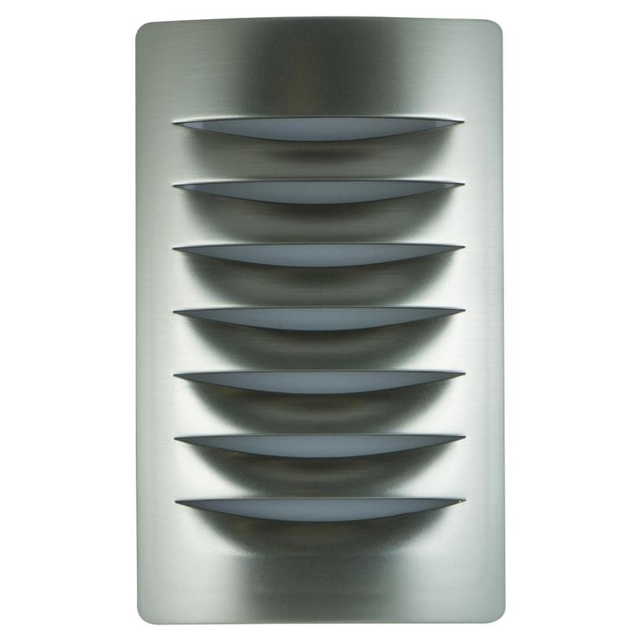 allen + roth Brushed Nickel LED Night Light with Auto On/Off