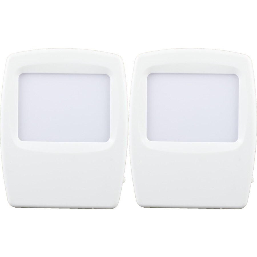 Style Selections 2-Pack White with Blue Screen LED Night Light