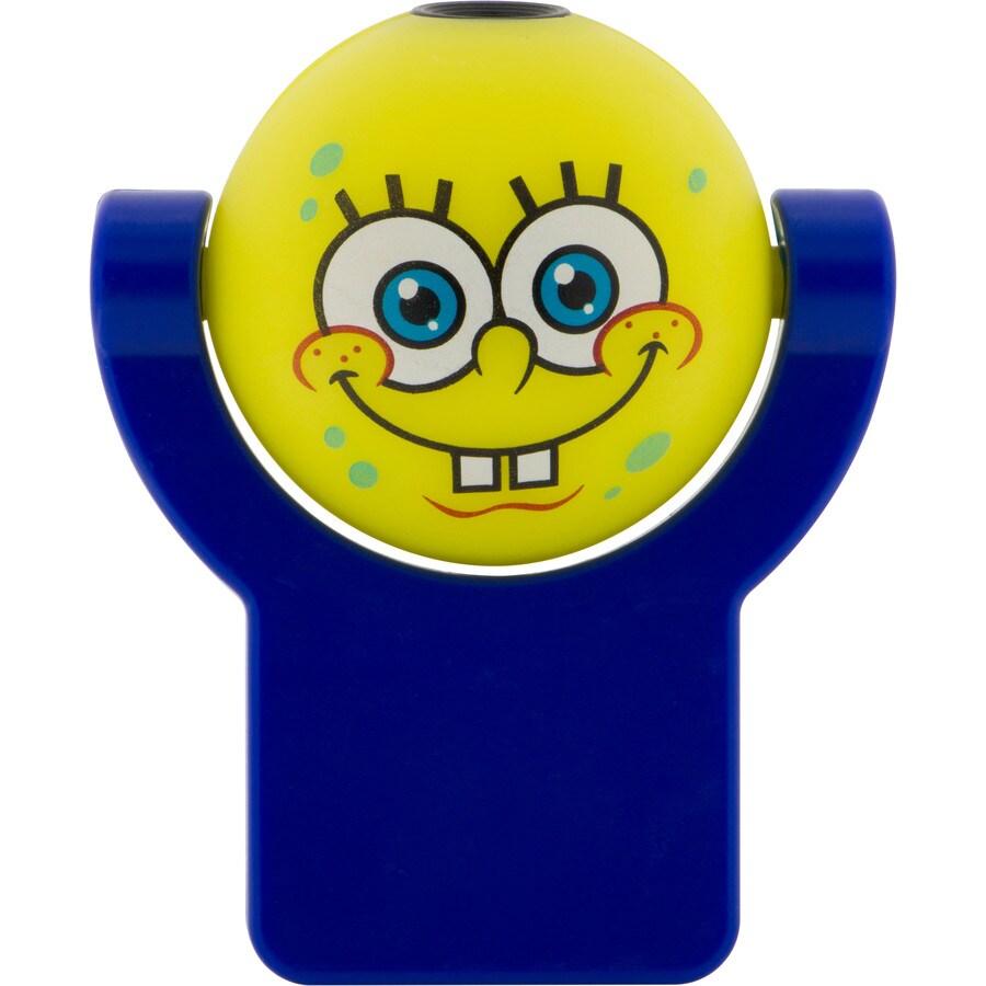 Nickelodeon SpongeBob SquarePants Yellow LED Night Light with Auto On/Off