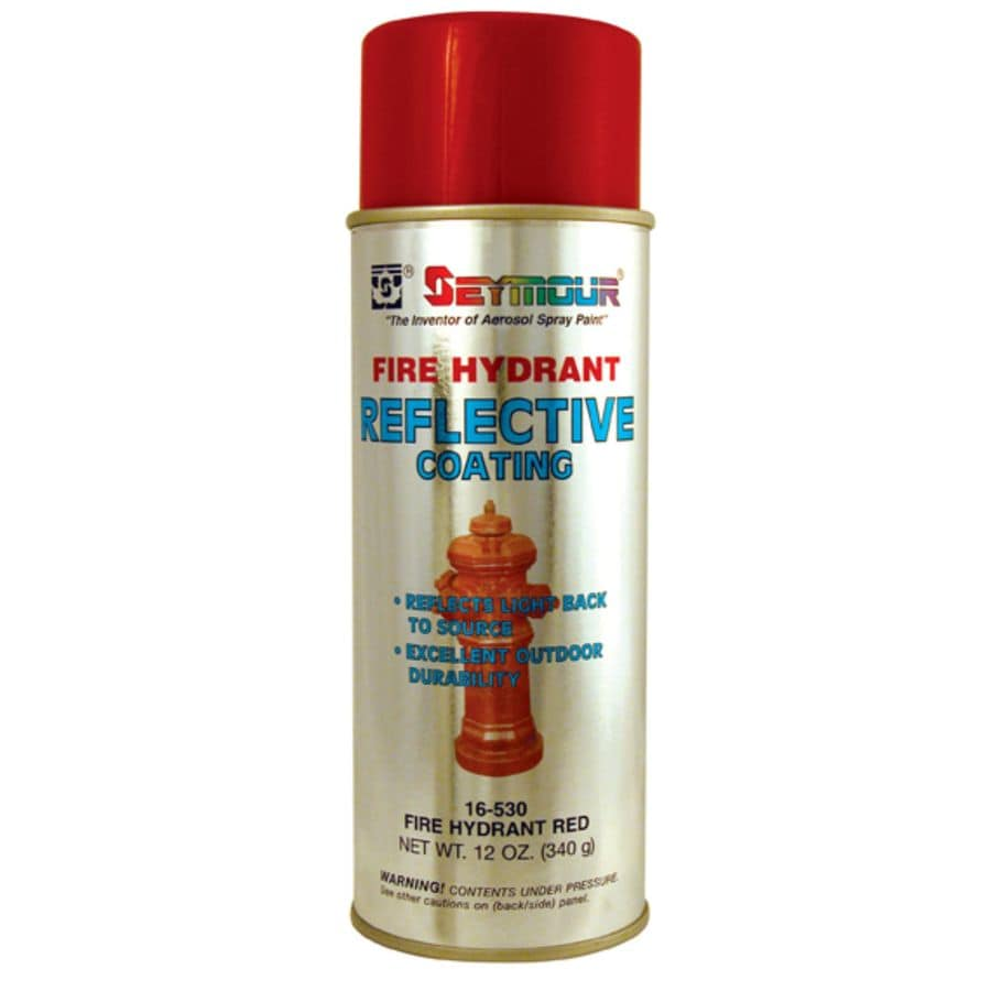 shop seymour fire hydrant red indoor outdoor spray paint at. Black Bedroom Furniture Sets. Home Design Ideas