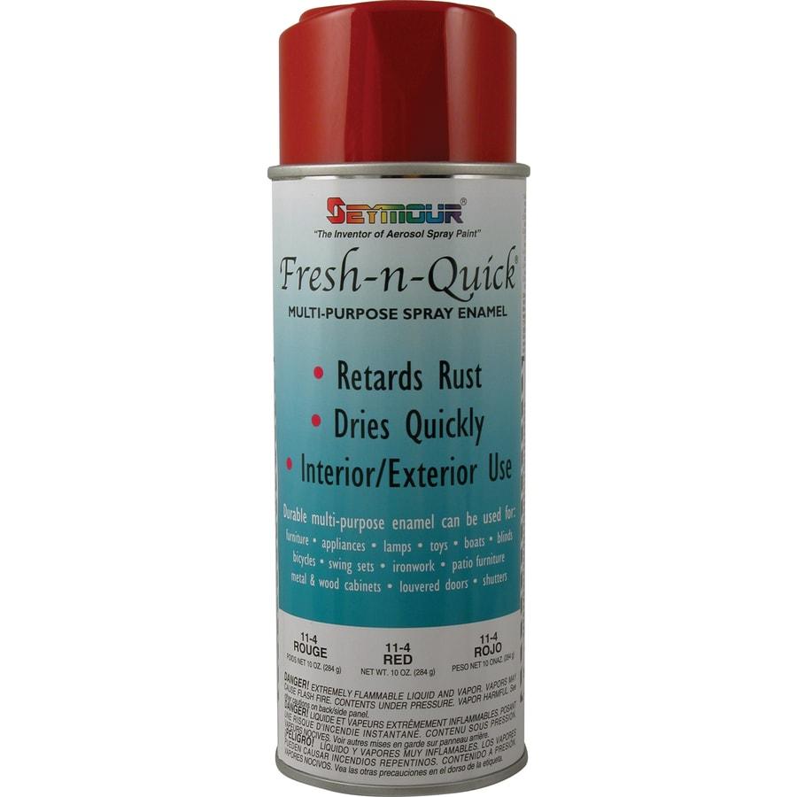 SEYMOUR Red Indoor/Outdoor Spray Paint