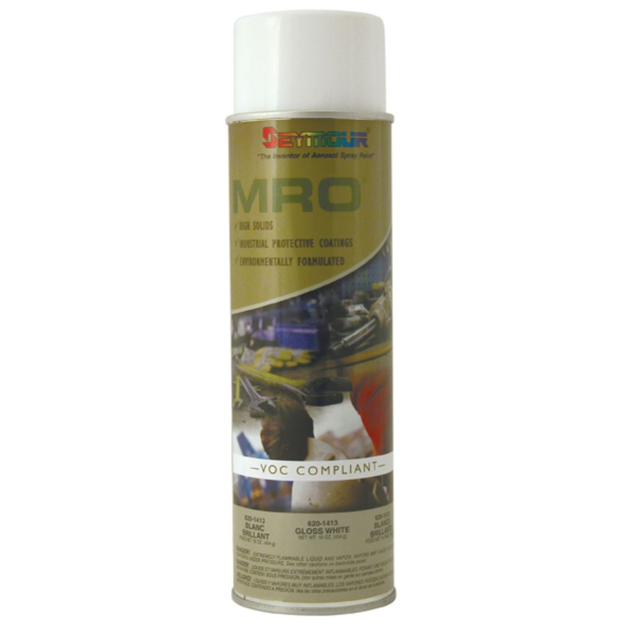 SEYMOUR Gloss White Indoor/Outdoor Spray Paint