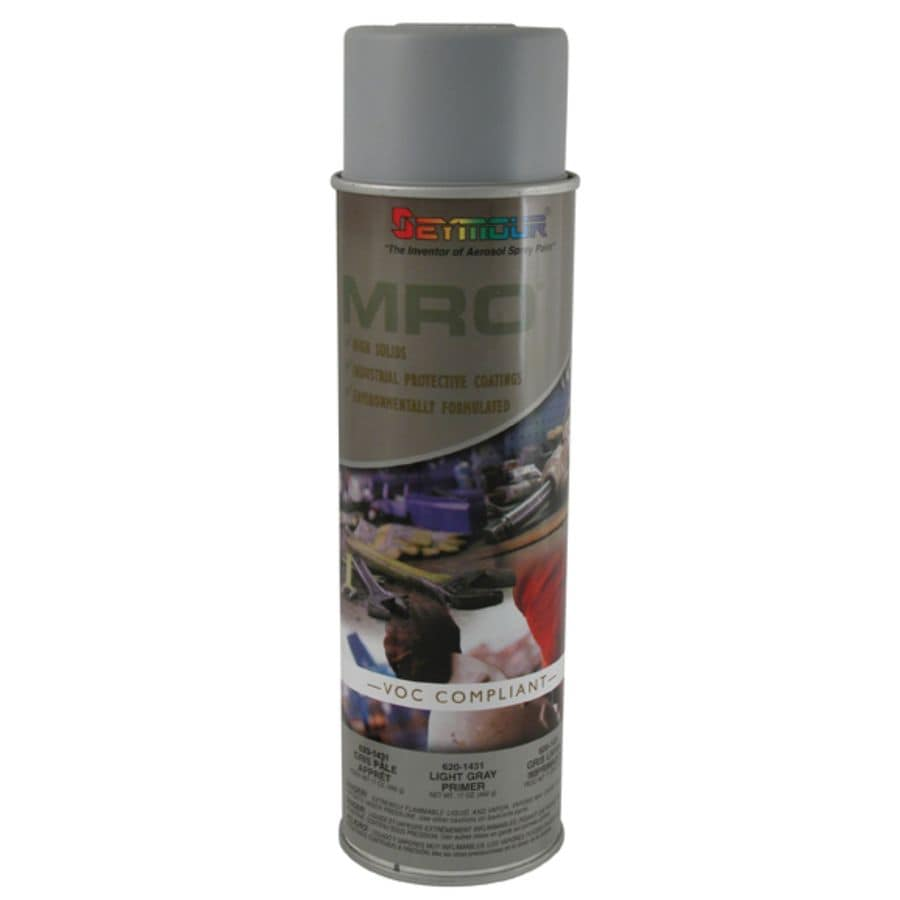 Shop Seymour Light Gray Primer Indoor Outdoor Spray Paint At
