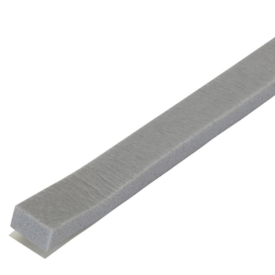 M-D Building Products 0.375-in x 17-ft Gray Closed-Cell Foam Window Weatherstrip