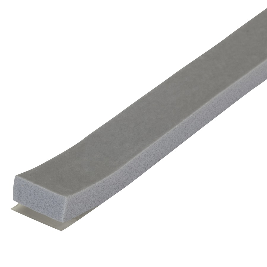 M-D Building Products 0.5-in x 17-ft Gray Closed-Cell Foam Window Weatherstrip