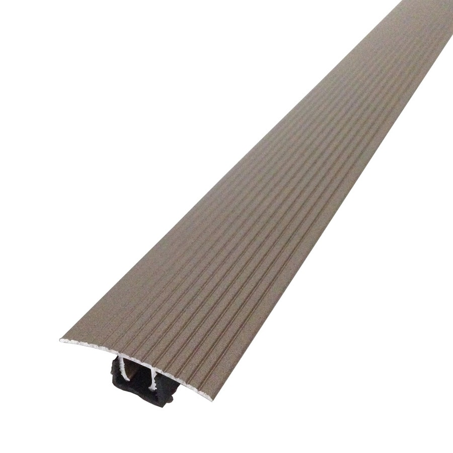 M-D Building Products 36-in Spice Cinch T-Molding with Snaptrack