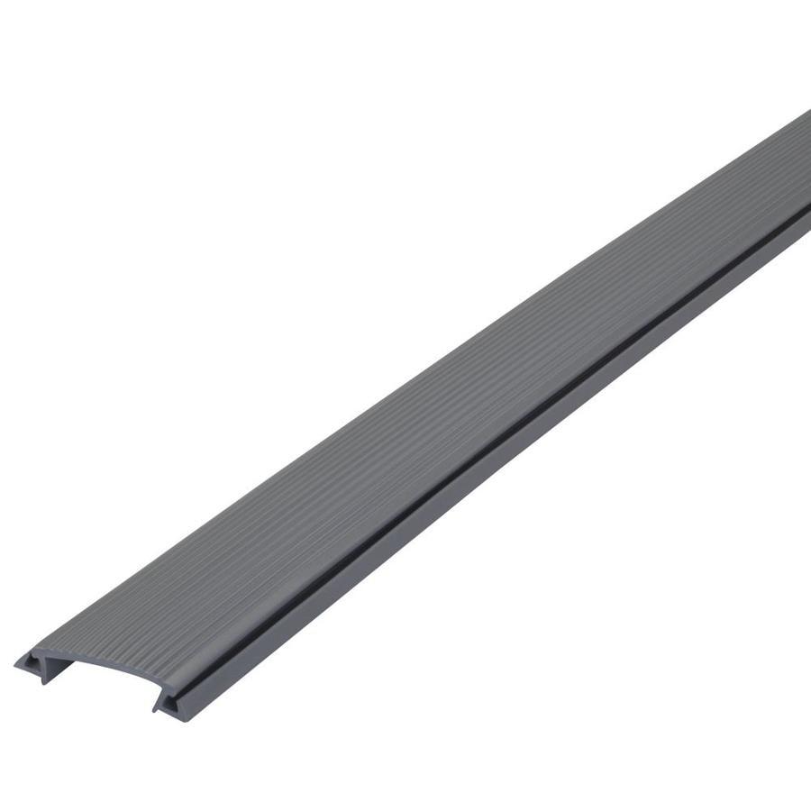 M-D Building Products 36-7/8-in L x 1-7/8-in W Silver Aluminum/Vinyl Insert Door Threshold