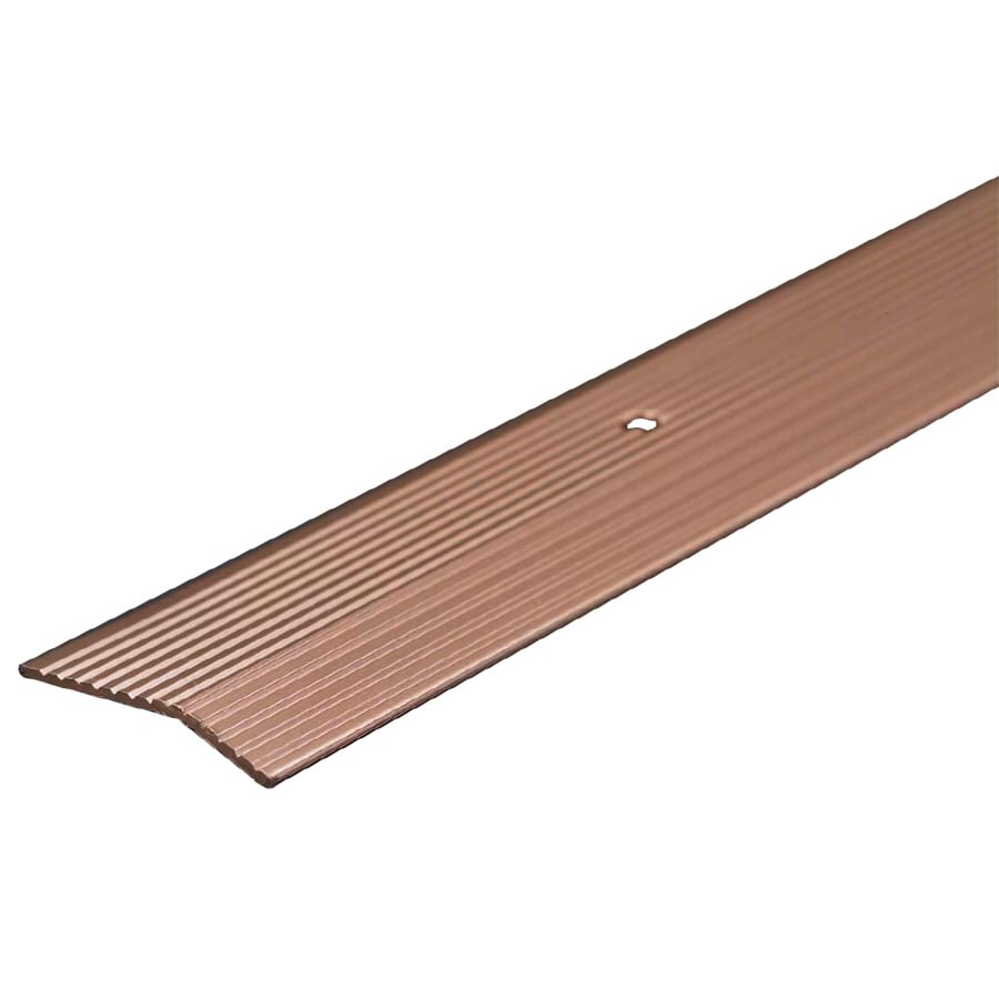 M-D Building Products 72-in L x 1-3/8-in W Pewter Carpet Edging Trim