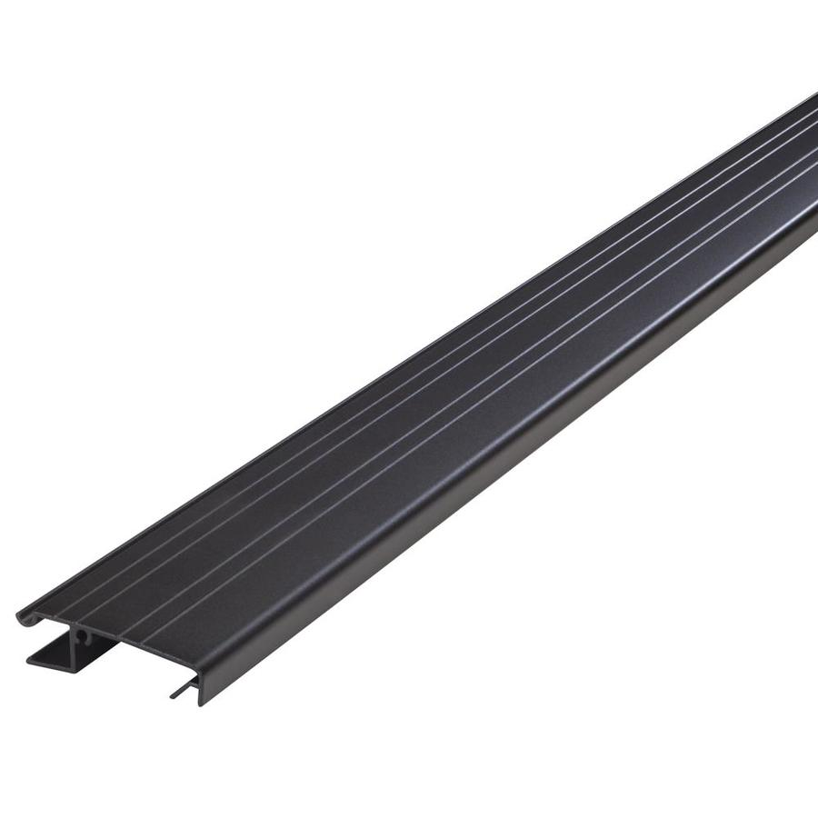 M-D Building Products 2-in x 3-ft Bronze Aluminum Door Weatherstrip