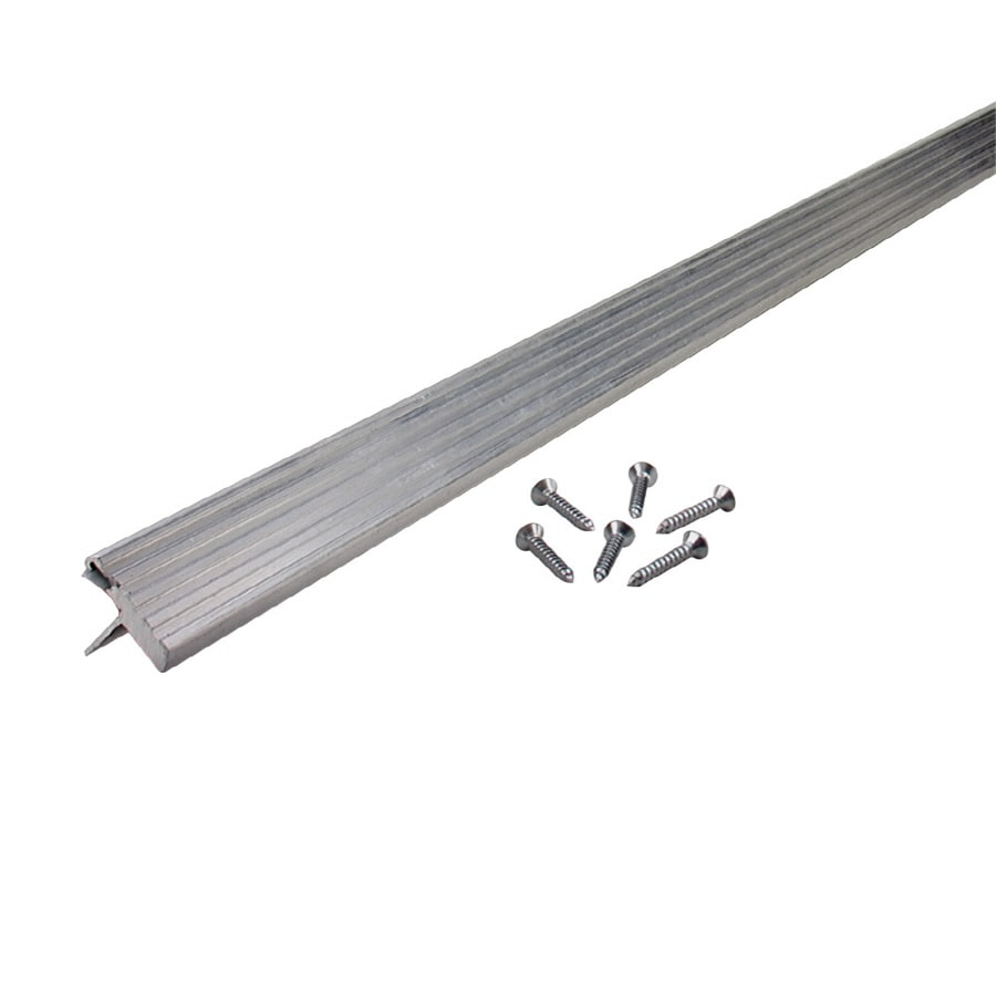 M-D Building Products 1.313-in x 7-ft Aluminum and Vinyl Door Weatherstrip