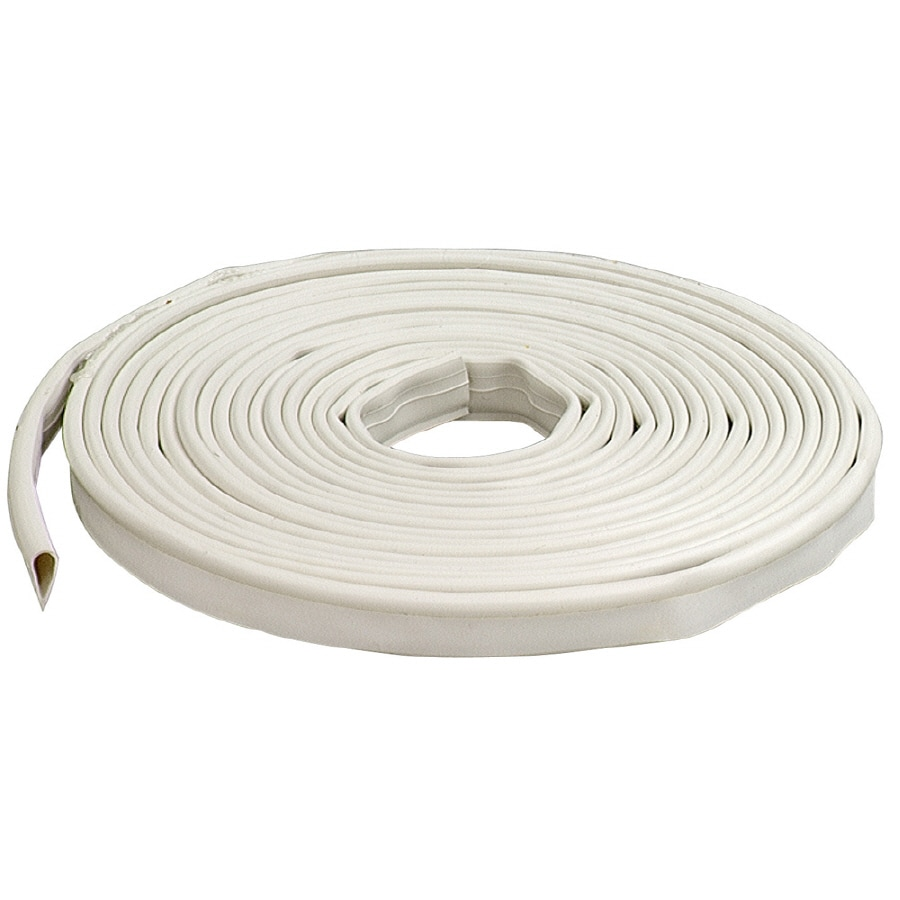 M-D Building Products 0.5-in x 20-ft White Silicone Gasketing Window Weatherstrip