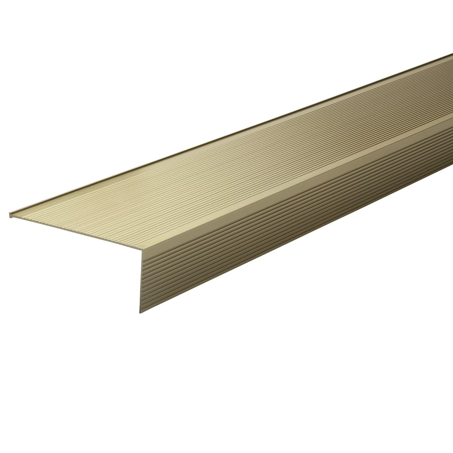 M-D Building Products 4.50-in x 1.50-in x 36-in Bright Gold Aluminum Door Threshold