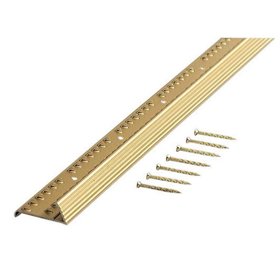 M-D Building Products 36-in L x 1-3/8-in W Carpet Edging Trim