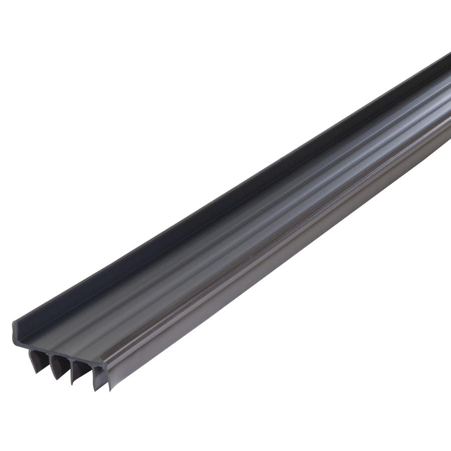 M D 36 In Brown Door Sweep Install With Screws In The Door Sweeps Department At Lowes Com