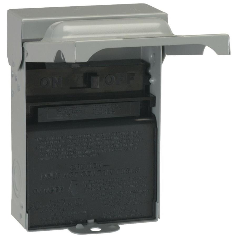 GE 60-Amp Non-Fusible Metallic Disconnect