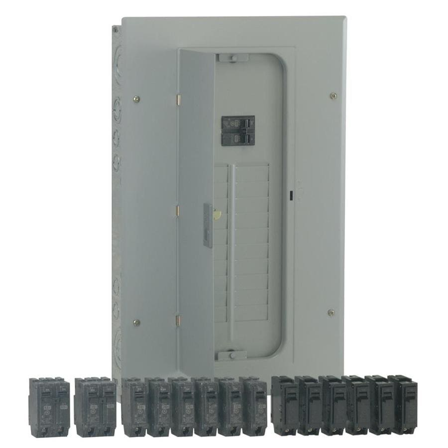 Shop GE 20-Circuit 20-Space 100-Amp Main Breaker Load