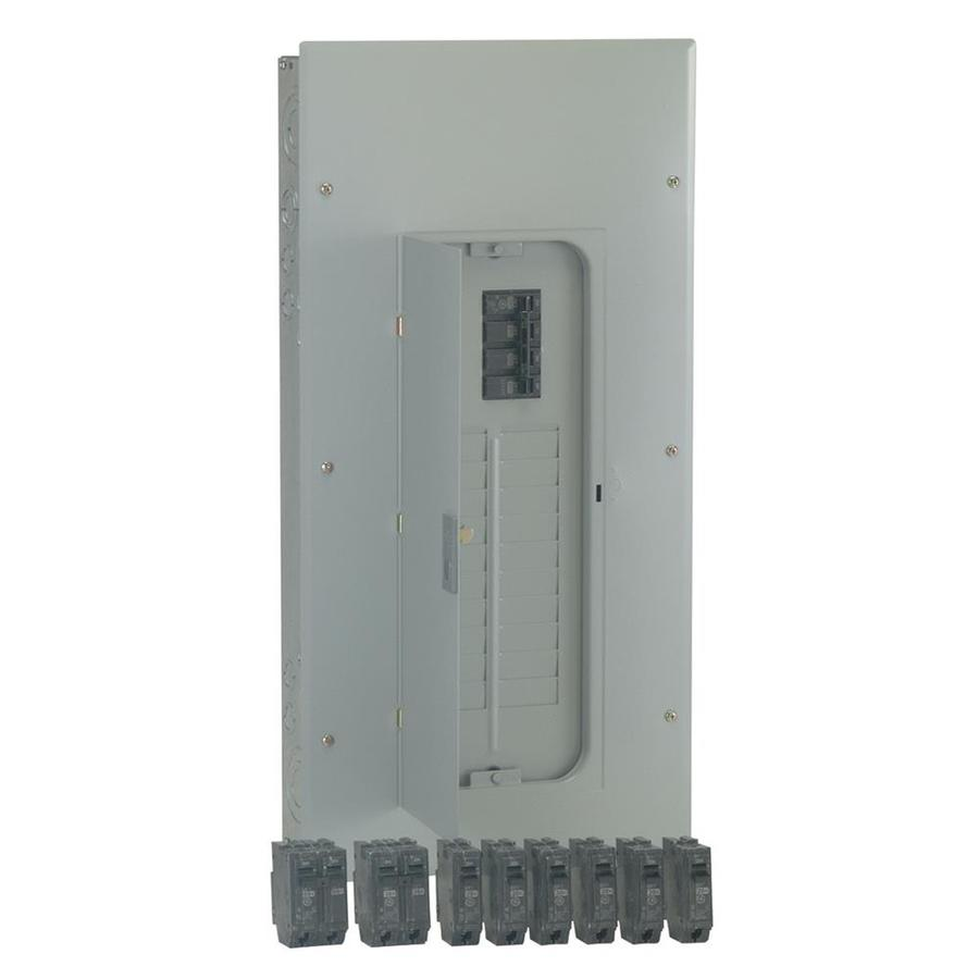 GE 20-Circuit 20-Space 200-Amp Main Breaker Load Center (Value Pack)