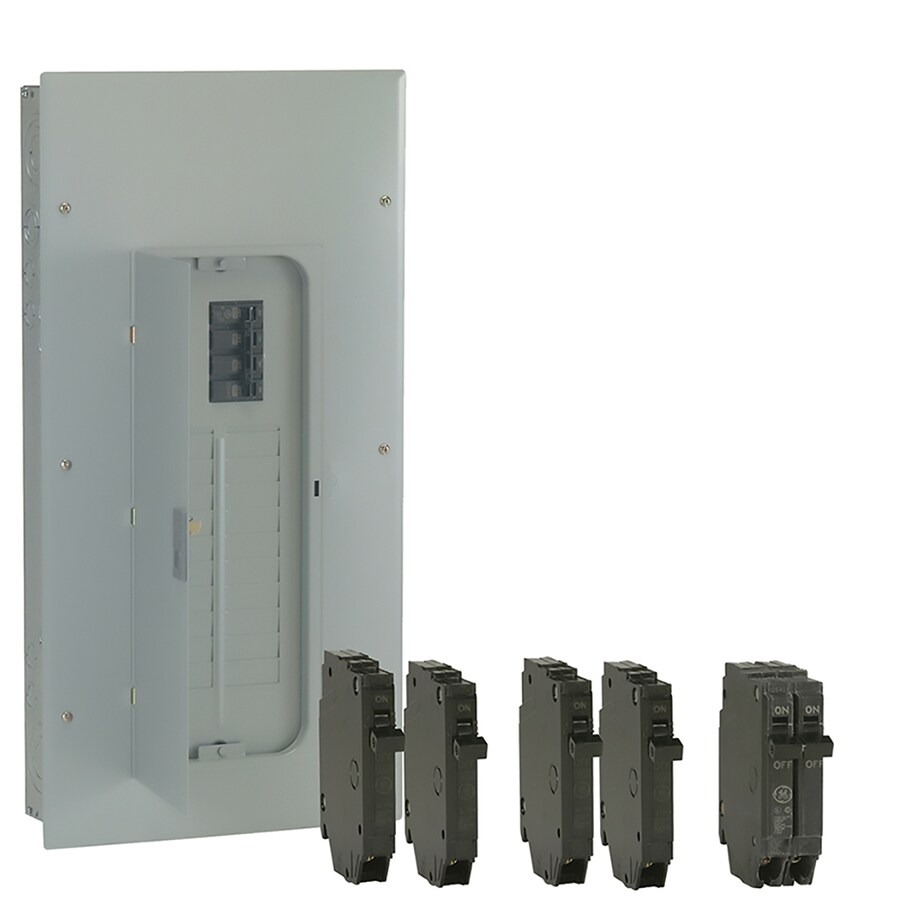 GE 40-Circuit 20-Space 200-Amp Main Breaker Load Center (Value Pack)