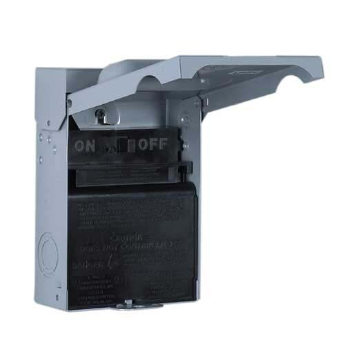 Shop GE 60 Amp Fusible Metallic Disconnect At Lowes.com