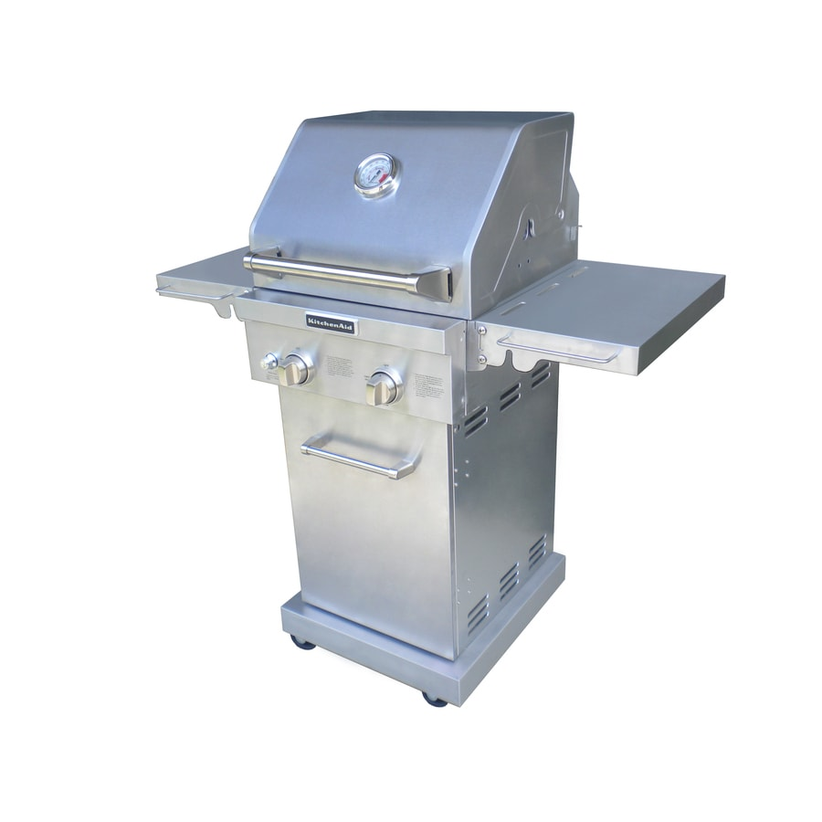 Shop KitchenAid 2 Burner 29 000 BTU Liquid Propane And Natural Gas Grill At