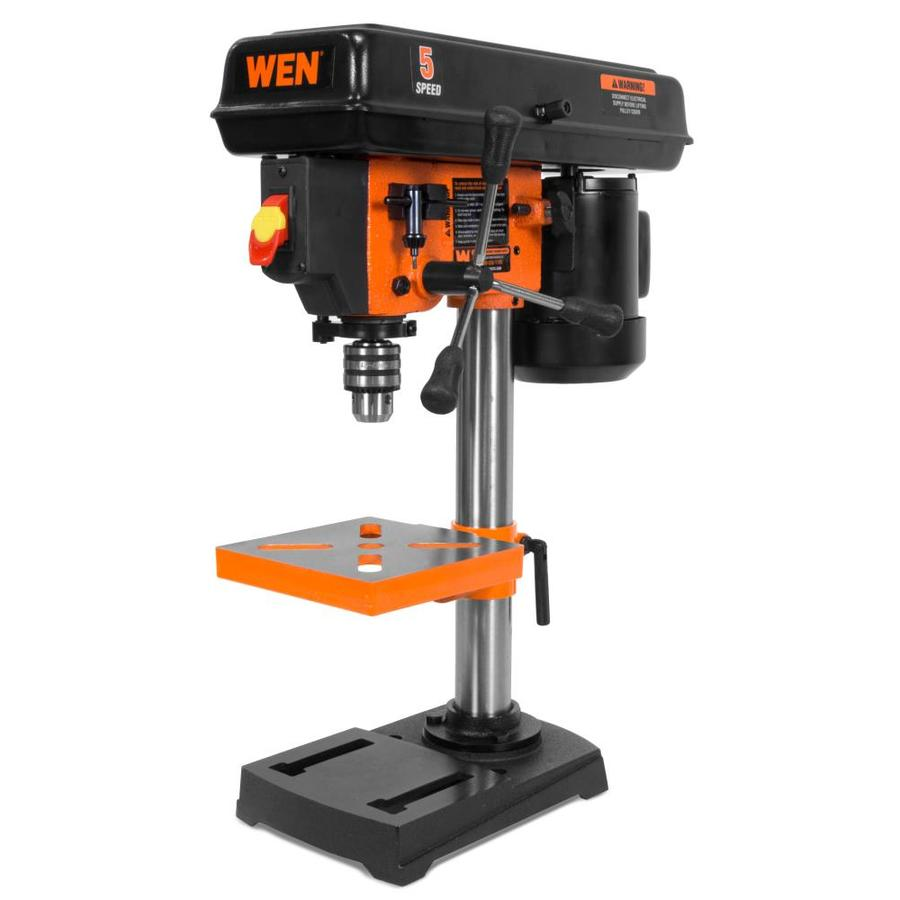 FORESTWEST 20136 10 Drill Press with LED Light /& Laser Bench Drill Press