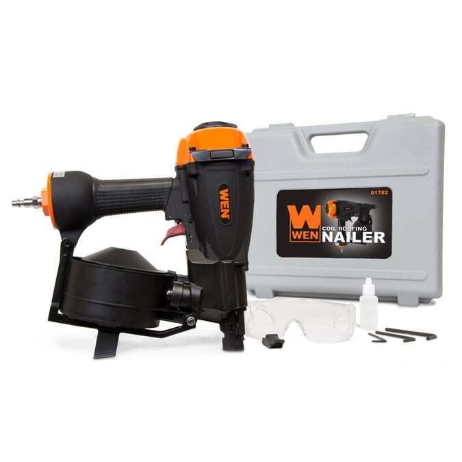 Wen 11 Gauge Pneumatic Roofing Nailer In The Nailers Department At Lowes Com
