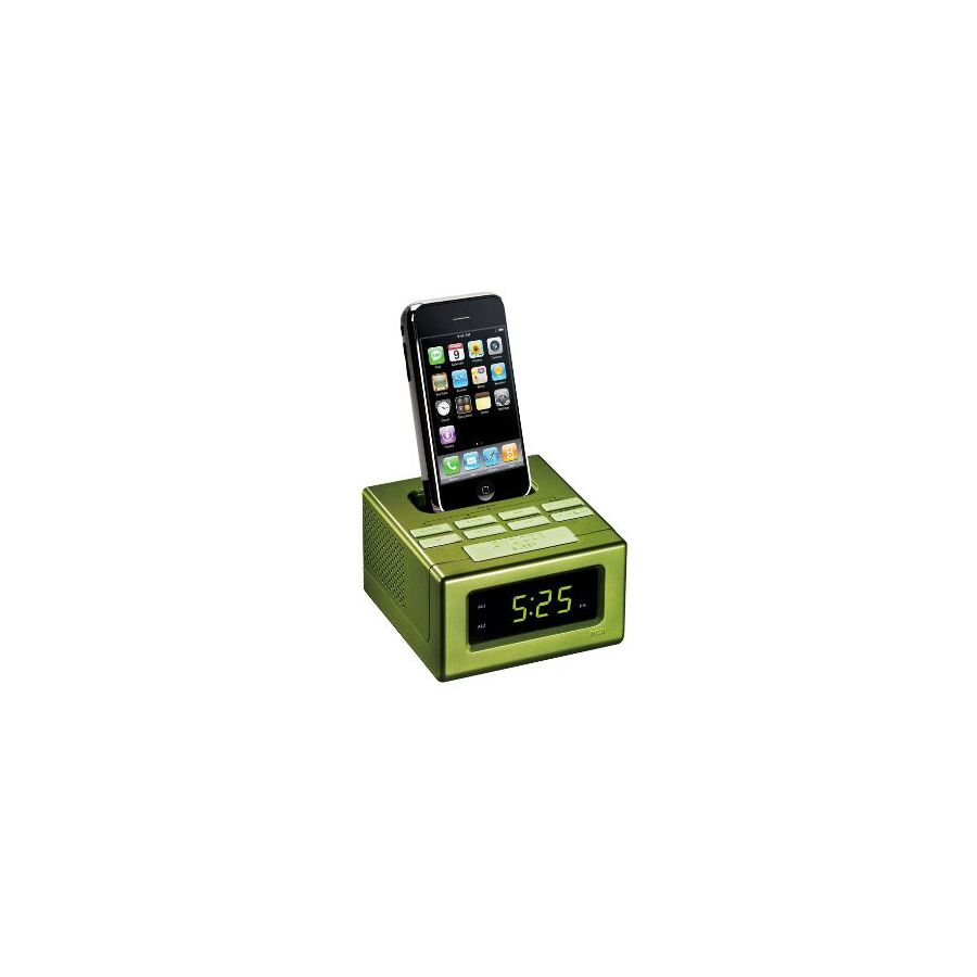 RCA Green Docking Station for iPhone and iPod