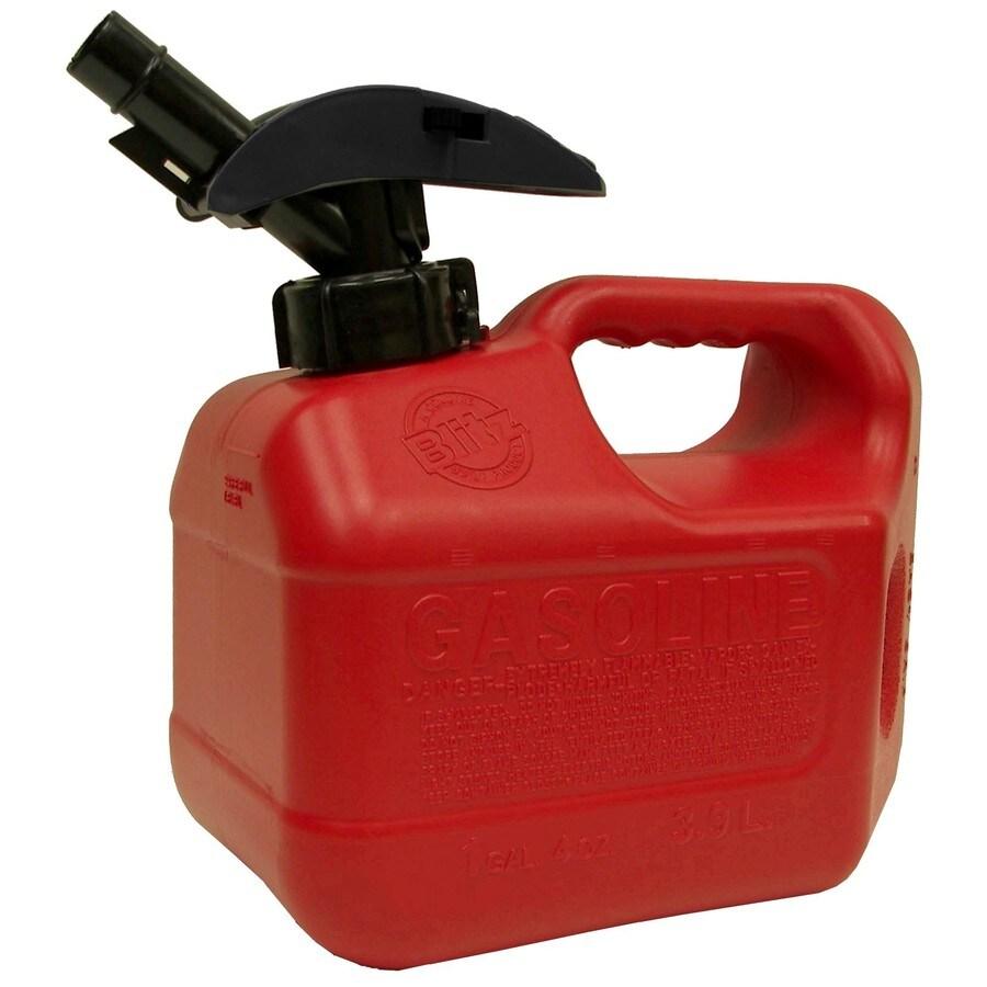 Blitz 1.25-Gallon Plastic Gasoline Can