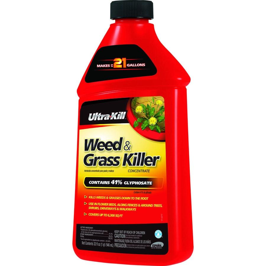 shop ultra kill 32 fl oz weed grass killer concentrate. Black Bedroom Furniture Sets. Home Design Ideas