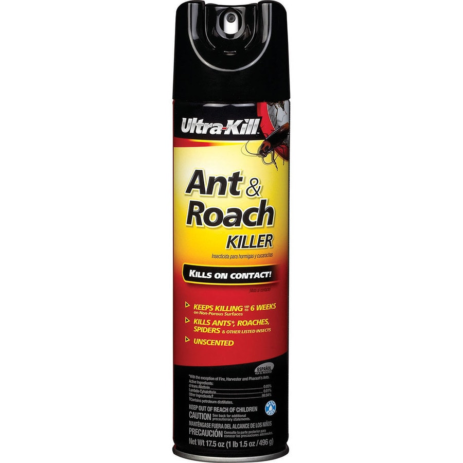 Ultra-Kill Ant and Roach Killer Aerosol