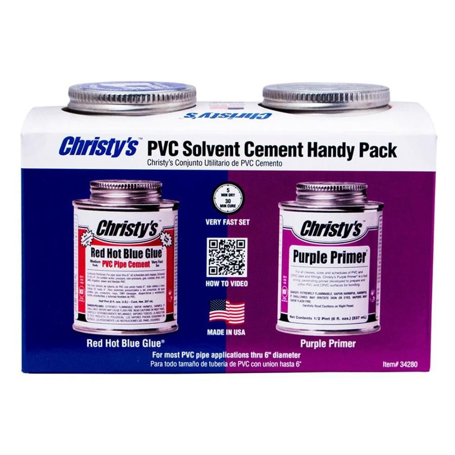 Christy's 8-fl oz PVC Cement and Primer