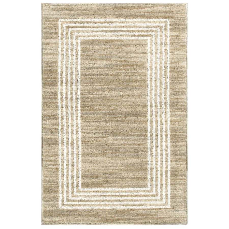 allen + roth Sarasota Rectangular Indoor Tufted Throw Rug (Common: 2 x 4; Actual: 27-in W x 45-in L)
