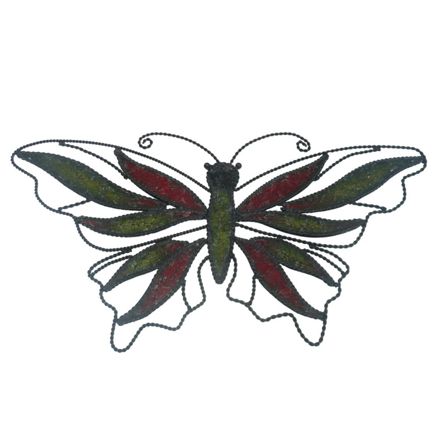 Garden Treasures Mosaic Butterfly Wall Decor