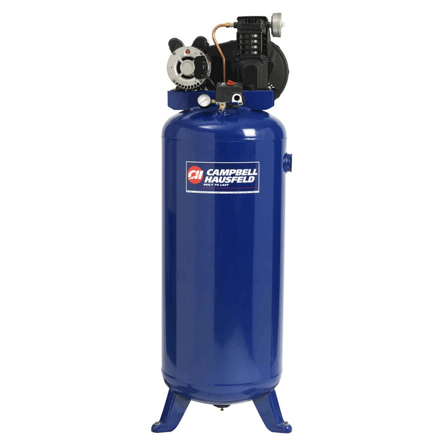 Campbell Hausfeld 3.2-HP 60-Gallon 135-PSI 240-Volt Vertical Electric Air Compressor