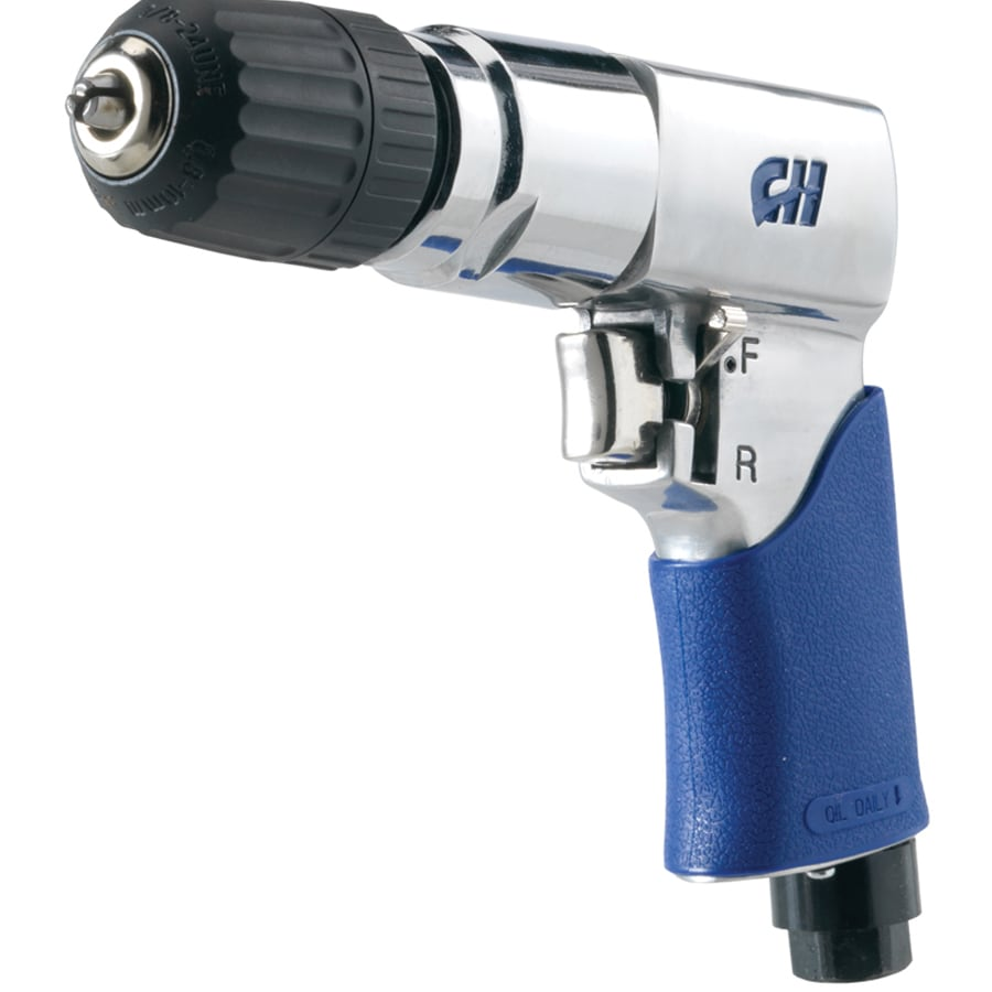 Campbell Hausfeld 3/8-in Reversible Air Drill with Storage Case
