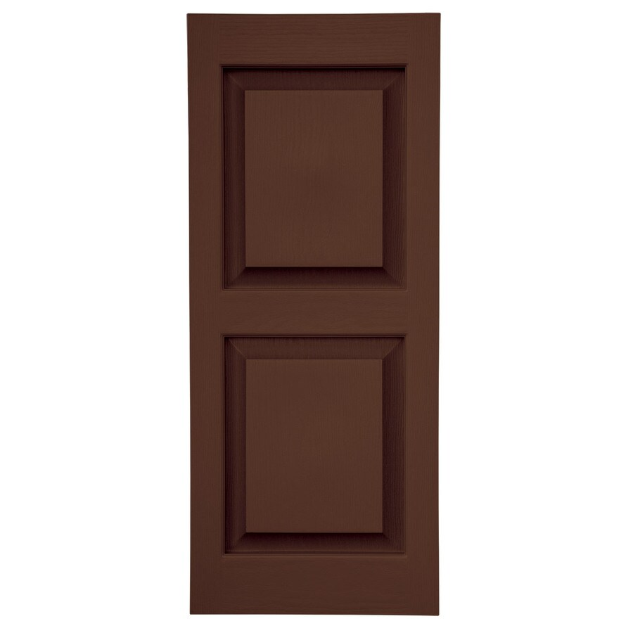 Shop Severe Weather 2 Pack Brown Raised Panel Vinyl