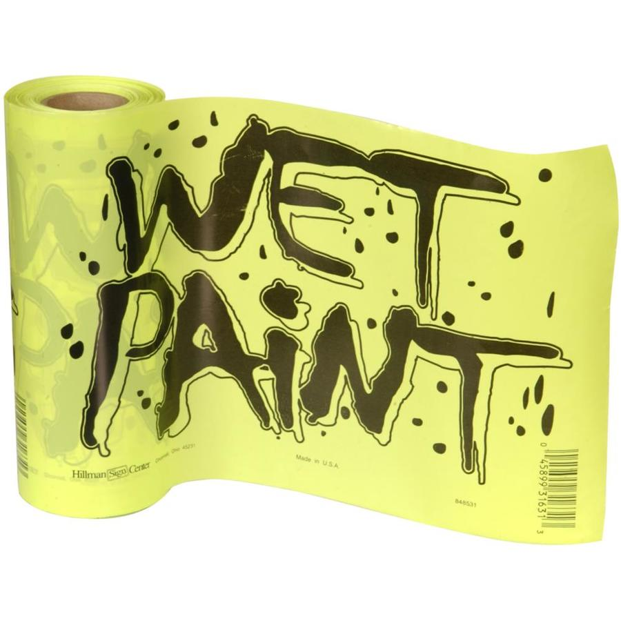 The Hillman Group 8-in x 12-in Wet Paint Sign