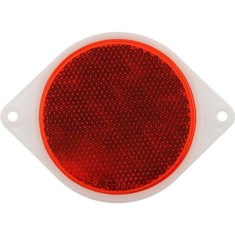 The Hillman Group 2-Pack 3-in Red Reflectors