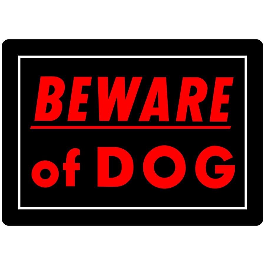 Free Beware Dog Signs