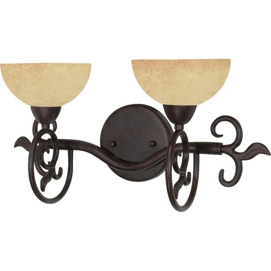 Tapas 2-Light Old Bronze Vanity Light