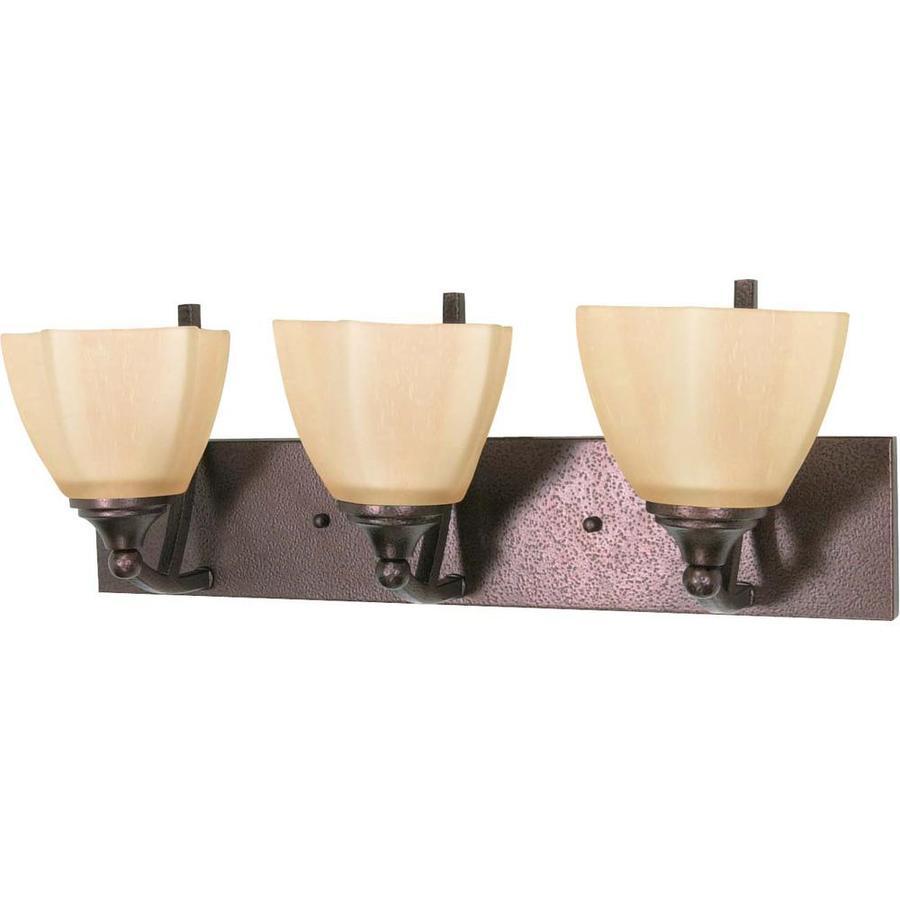 Normandy 3-Light Copper Bronze Vanity Light