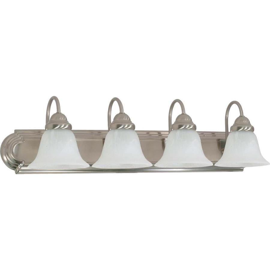 4-Light Brushed Nickel Vanity Light