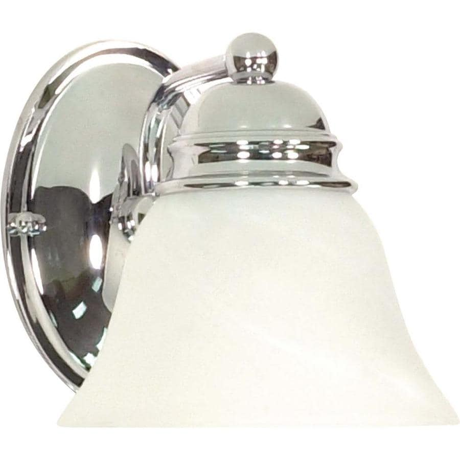 Vanity Light Shade Lowes : Shop Polished Chrome Bathroom Vanity Light at Lowes.com